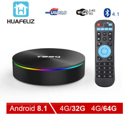 Topsion Android 9 0 Smart TV BOX 4G DDR3 32G EMMC ROM Set Top Box 6K