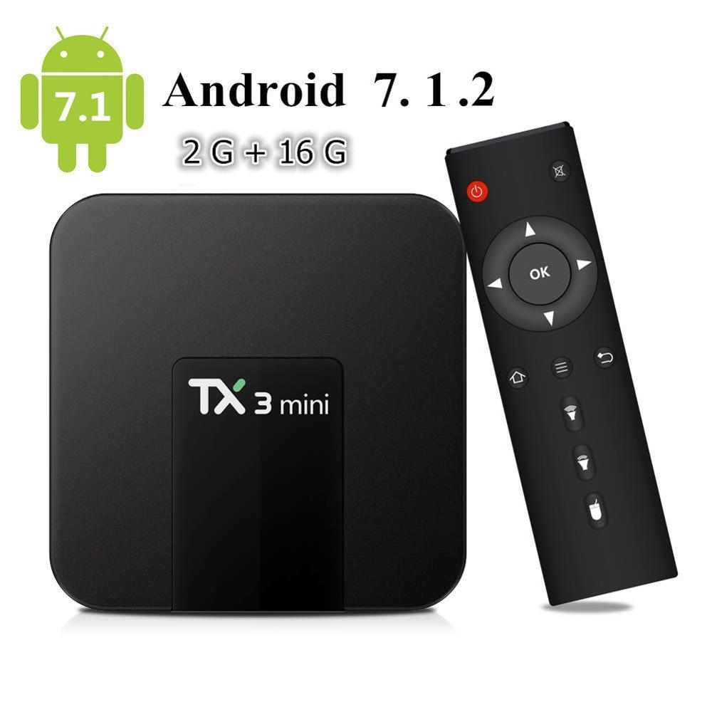 X96 MINI S905W 2+16G Android 6.0 Nougat 4K Quad Core Smart TV BOX WIFI MINI Lot